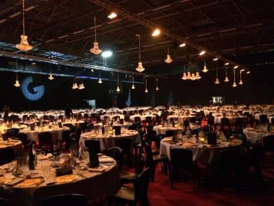 Diner de Gala à Alpexpo - La Fine Fourchette 2017